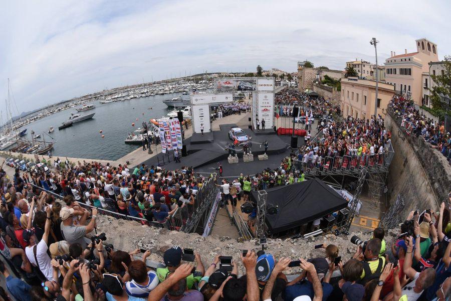Rally Italia Sardegna is based in Alghero