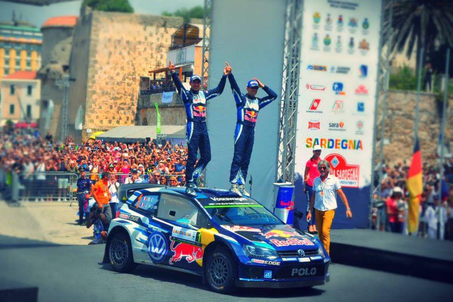 Sebastien Ogier and Julien Ingrassia - three-time winners of Rally Italia Sardegna