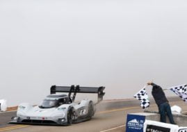 2018 Pikes Peak International Hill Climb, Romain Dumas, Volkswagen I.D. R Pikes Peak electric car