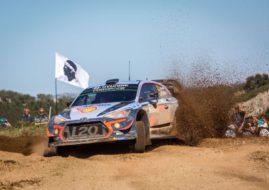 Rally Italia Sardegna, Thierry Neuville