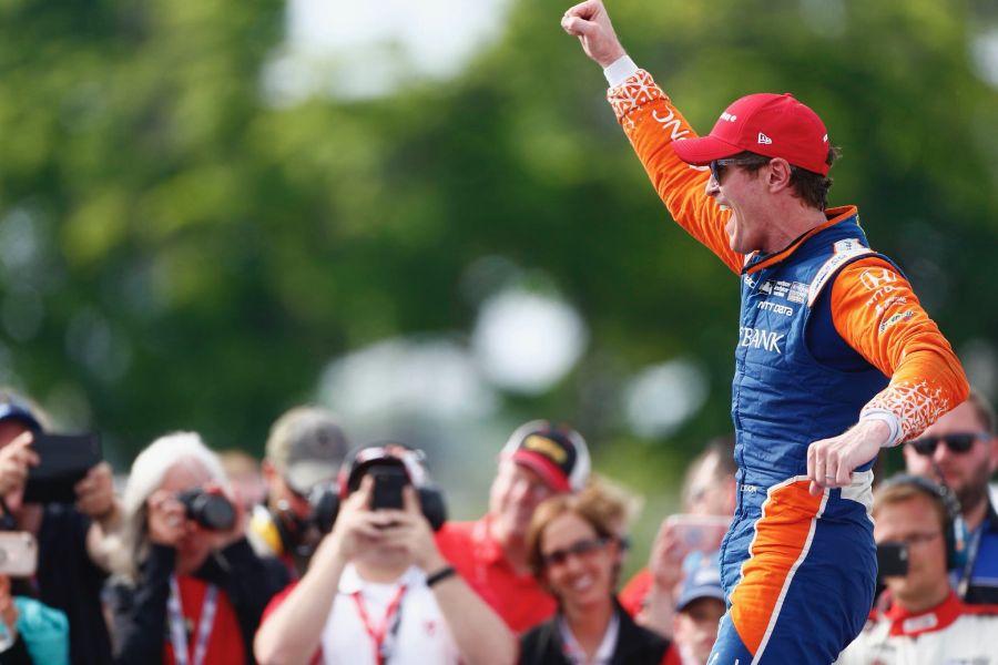 Scott Dixon IndyCar Detroit Grand Prix