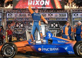 Scott Dixon wins DXC technology 600 at Texas Motor Speedway