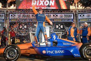 Scott Dixon wins DXC technology 600 at Texas Motor Speedway