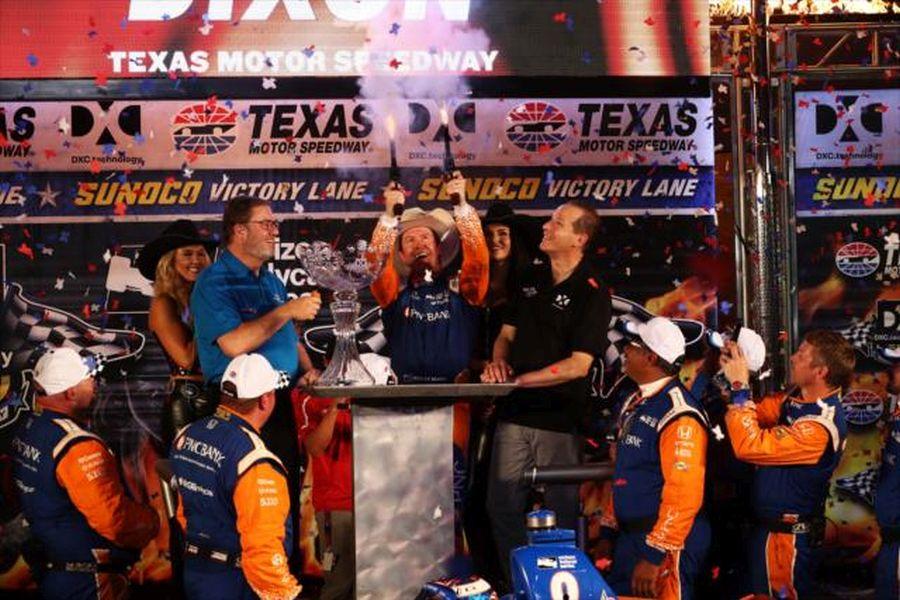 Scott Dixon Texas Motor Speedway