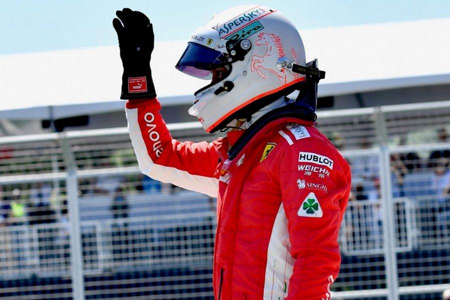 Sebastian Vettel Canada GP