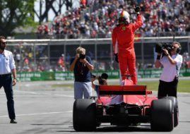 Sebastian Vettel wins Canadian Grand Prix