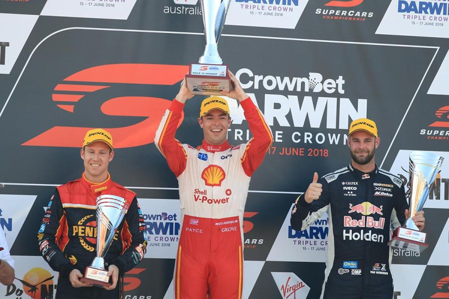 Supercars, Darwin Triple Crown, Hidden Valley Raceway, Scott McLaughlin wins