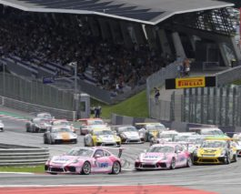 Plenty of action in the German racing weekend at Red Bull Ring