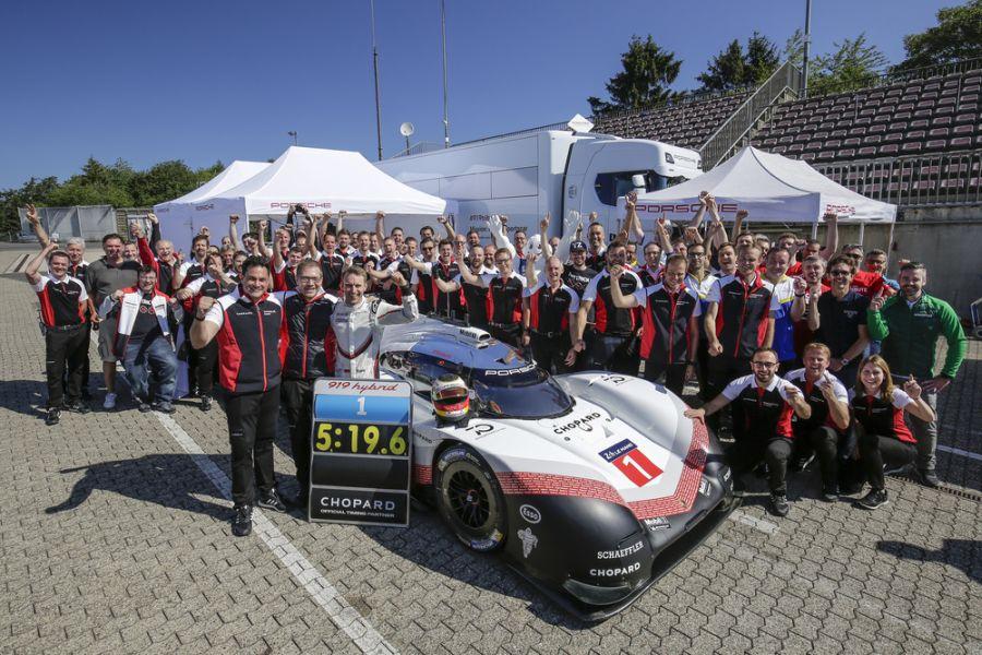 Porsche 919 Hybrid Evo, Nurburgring Nordschleife record