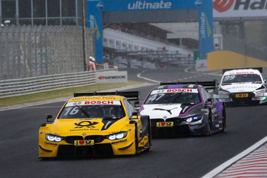 Timo Glock (#16 BMW) is the championship leader after six races