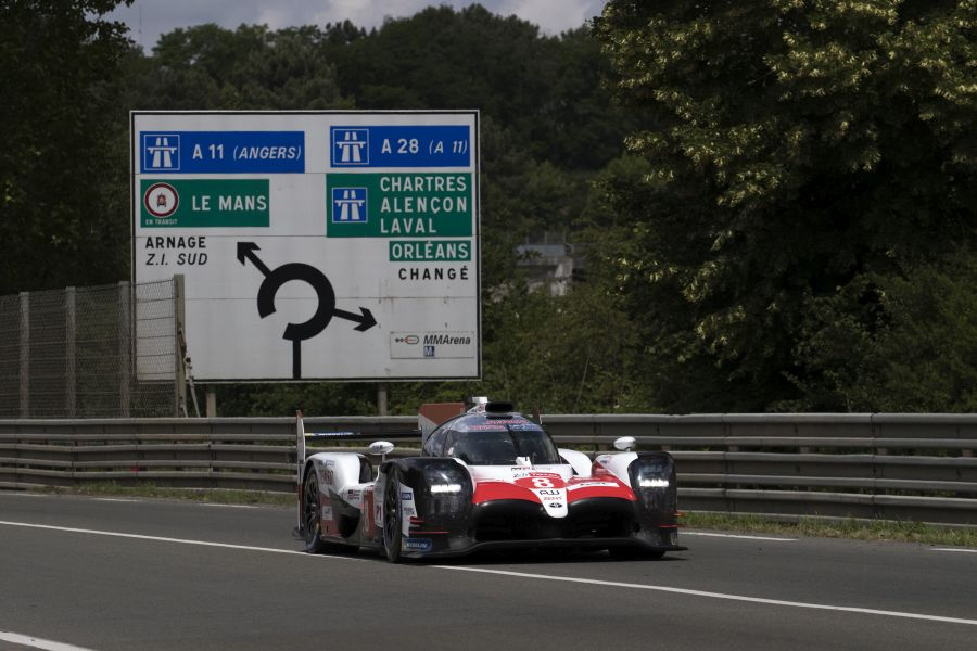 Toyota TS050 Hybrid, Le Mans 24h official test