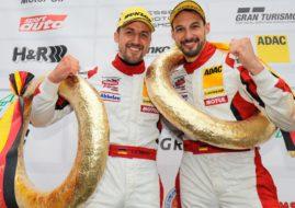 Lance David Arnold und Felipe Fernàndez Laser, Frikadelli Racing, VLN round 3