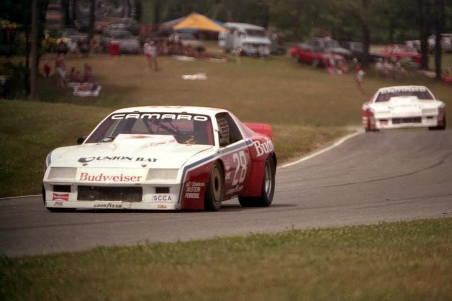 Willy T. Ribbs was driving the #28 Chevrolet Camaro in 1983