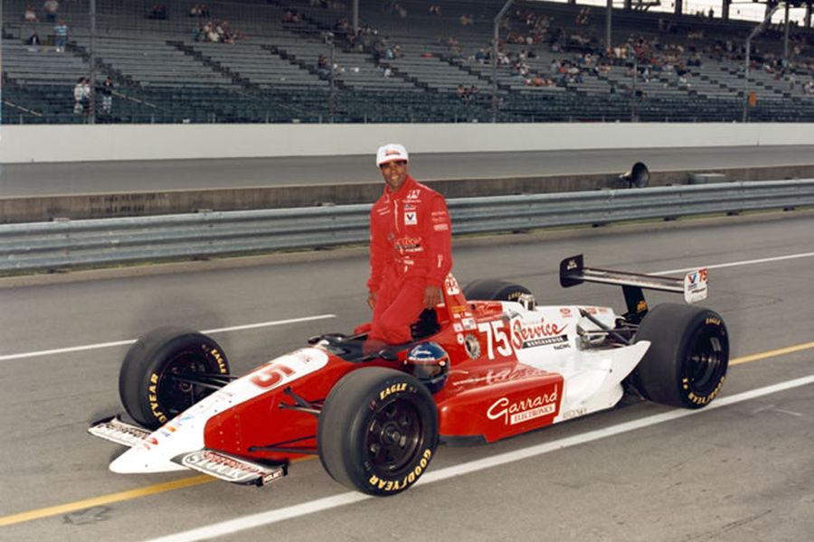 Willy T. Ribbs at Indianapolis Motor Speedway in 1993