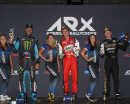 Scott Speed triumphed in the ARX Americas Rallycross event at COTA