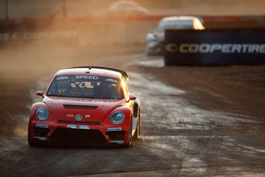 ARX Americas Rallycross COTA Austin Texas Scott Speed Volkswagen Beetle