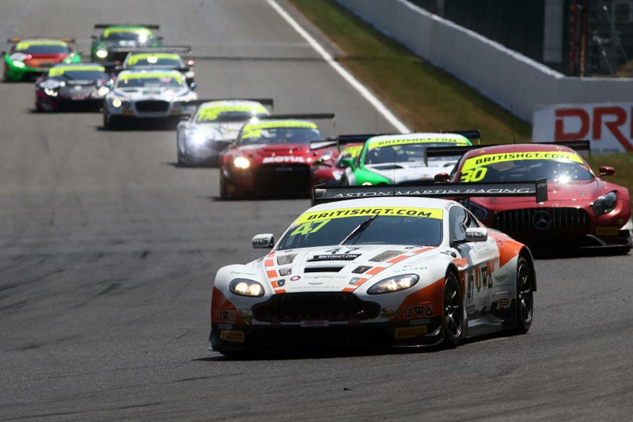 British GT Spa, Jetstream Motorsport Aston martin, Maxime Martin,Graham Davidson