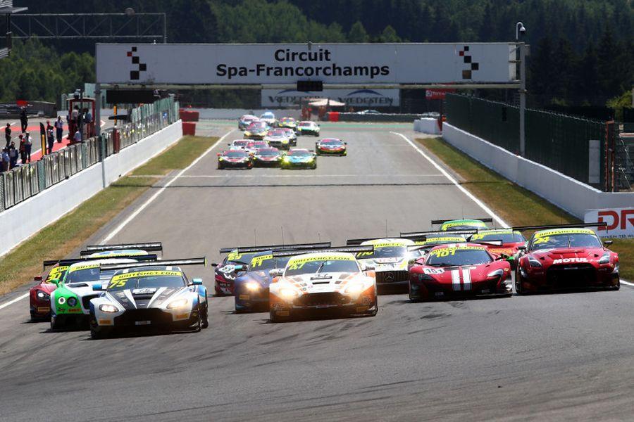 British GT Championship Spa-Francorchamps