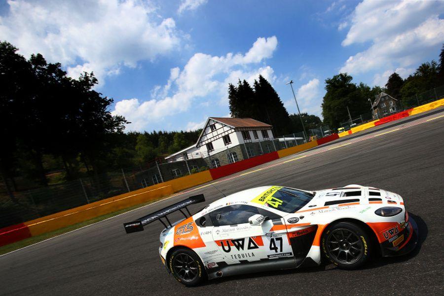 British GT Spa, Jetstream Motorsport Aston Martin, Maxime Martin,Graham Davidson
