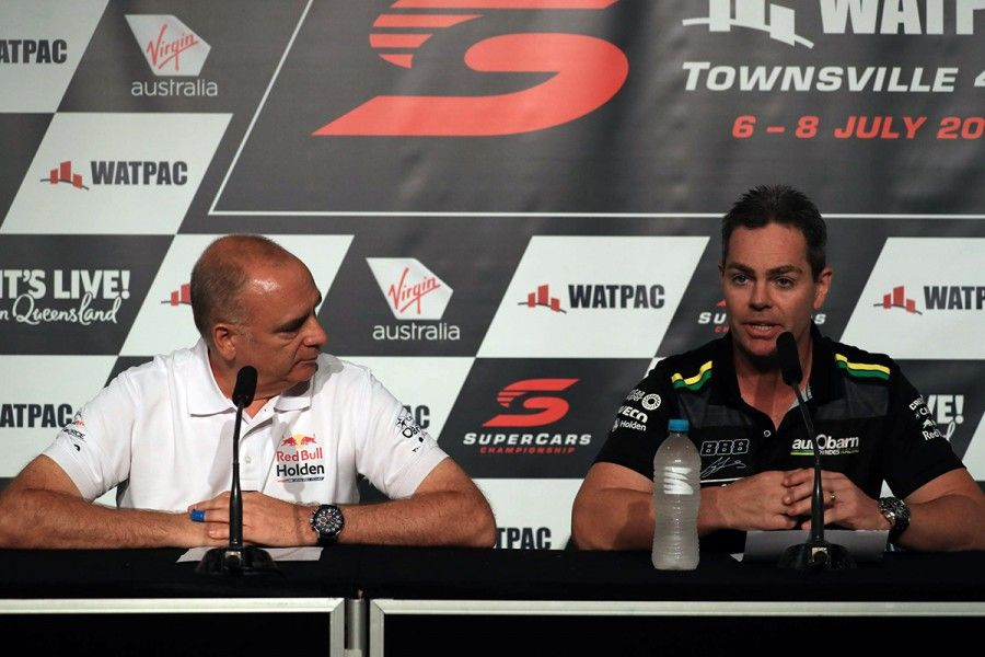 Lowndes announced retirement today in Townsville