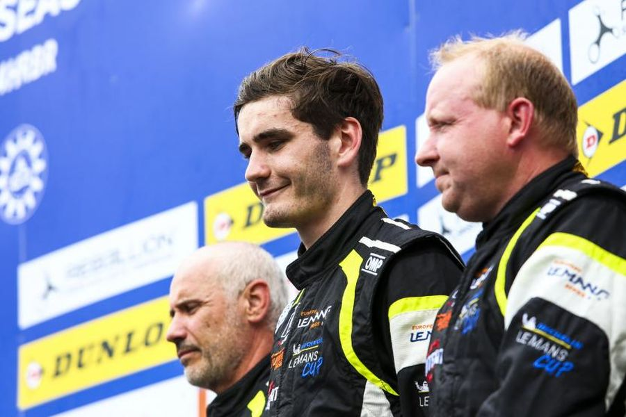 ELMS Red Bull Ring LMP3 class winners Farano, Van Uitert and Garofall