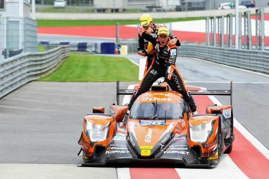 ELMS Red Bull Ring, winners Pizzitola, Vergne, Rusinov