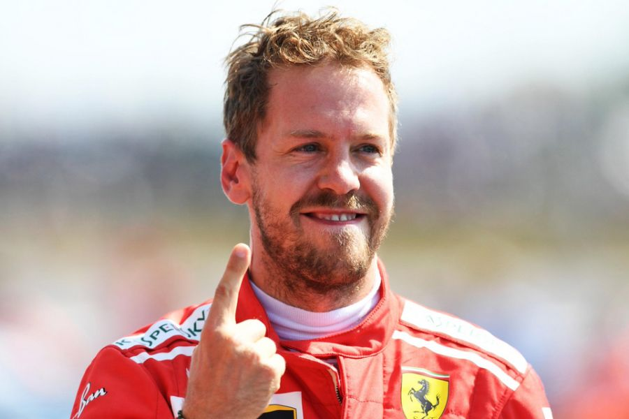 Sebastian Vettel wins the British Grand Prix