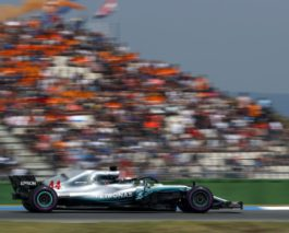 German GP: Vettel crashed out from the lead, Hamilton wins from P14