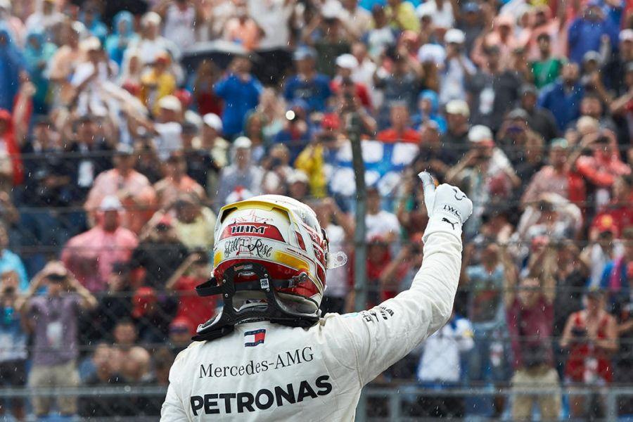F1 Hungarian Grand Prix, Lewis Hamilton