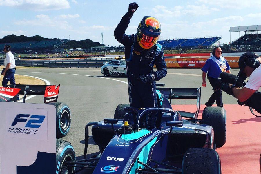 Formula2 Silverstone Alex Albon