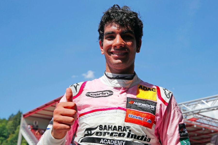 Formula 3 European Championship, Spa, Jehan Daruvala
