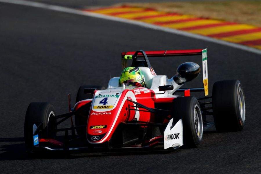 Formula 3 European Championship, Spa-Francorchamps, Mick Schumacher