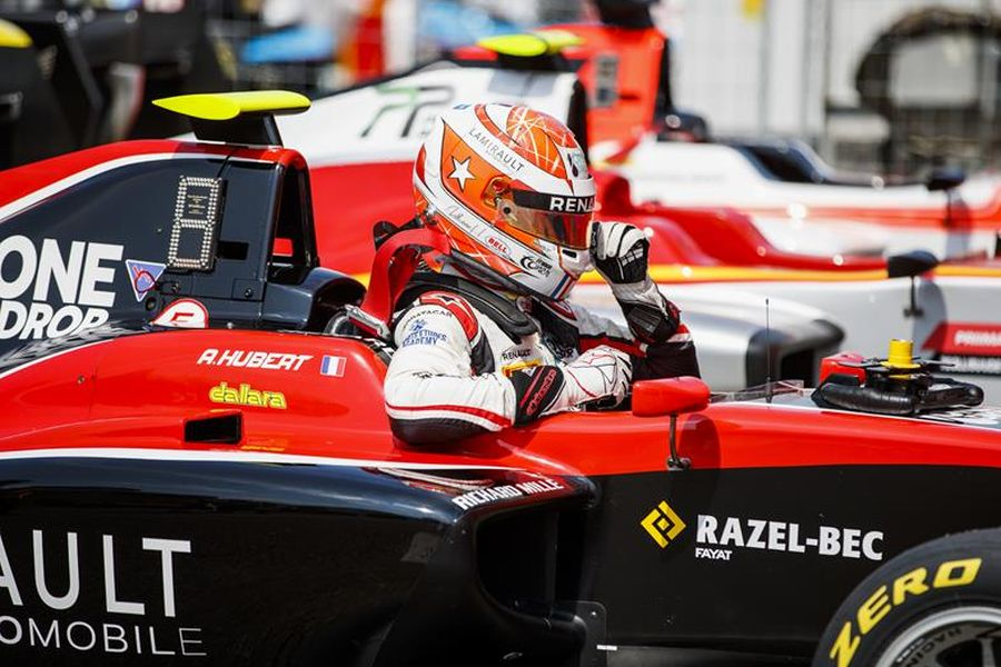 Anthoine Hubert is GP3 Series leader after five rounds