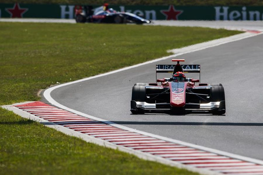 GP3 Series Hungaroring, Nikita Mazepin