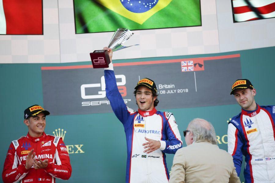 GP3 Series Silverstone race 2 podium