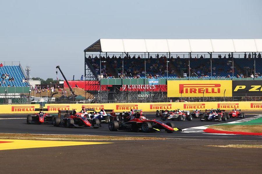 GP3 Series Silverstone race 1