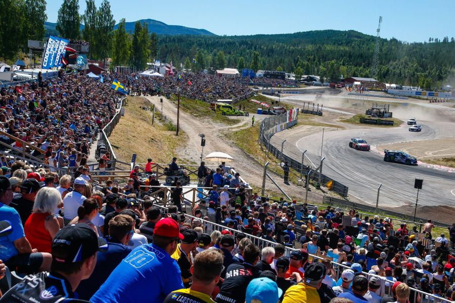 The meeting at Höljes was the sixth round of the 2018 World RX season
