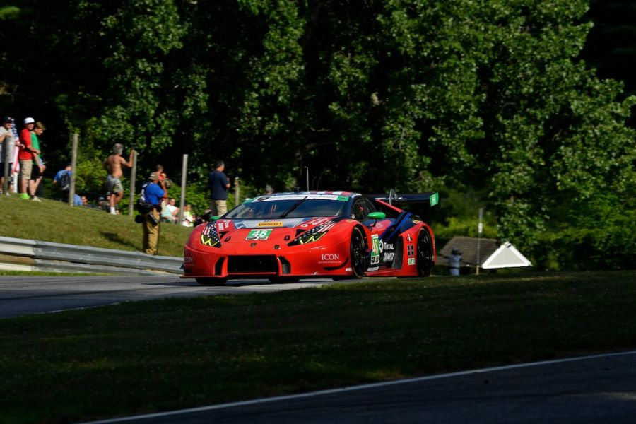 IMSA, Northeast Grand Prix, Lime Rock Park, GTD victory #48 Lamborghini