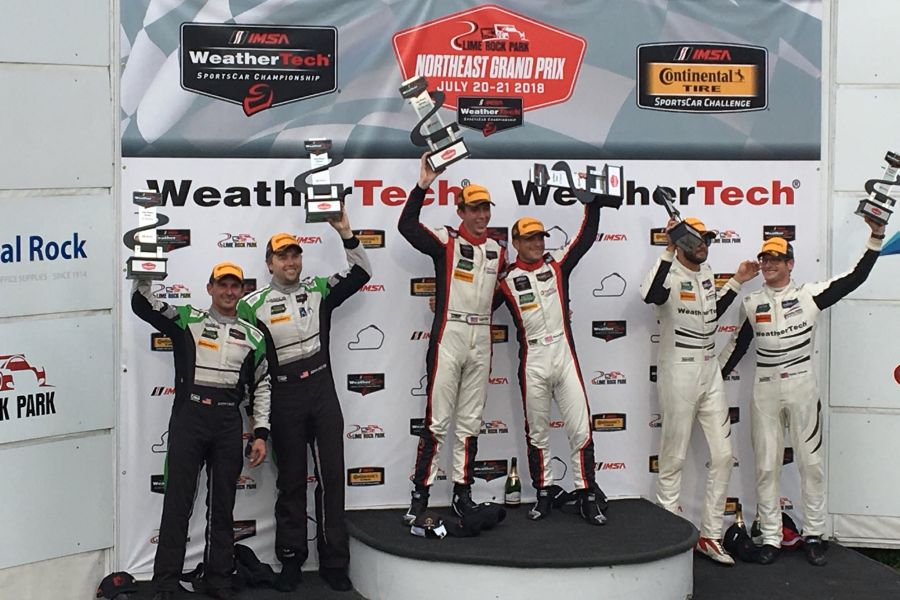 IMSA, Northeast Grand Prix, Lime Rock Park, GTD podium
