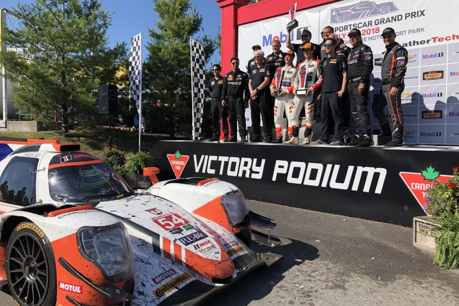 CORE Autosport wins at Mosport