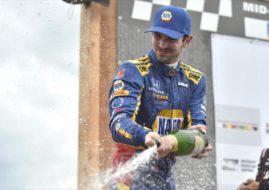 IndyCar MidOhio Alexander Rossi