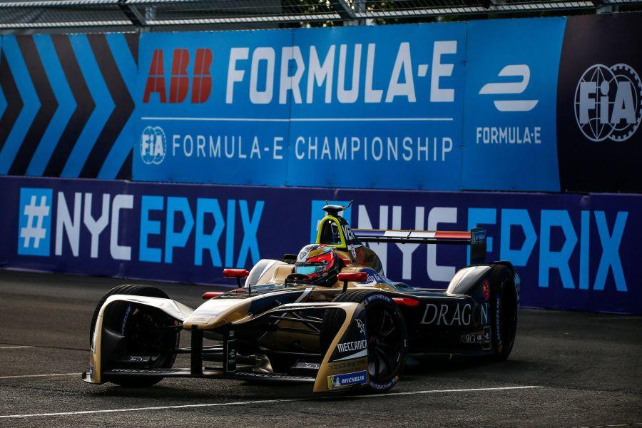 Jean-Eric Vergne Formula E champion