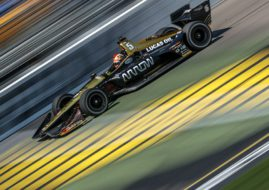 James Hinchcliffe Iowa Corn 300 winner