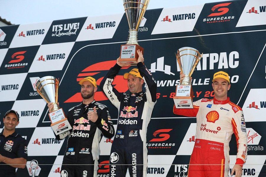 Townsville 400 podium