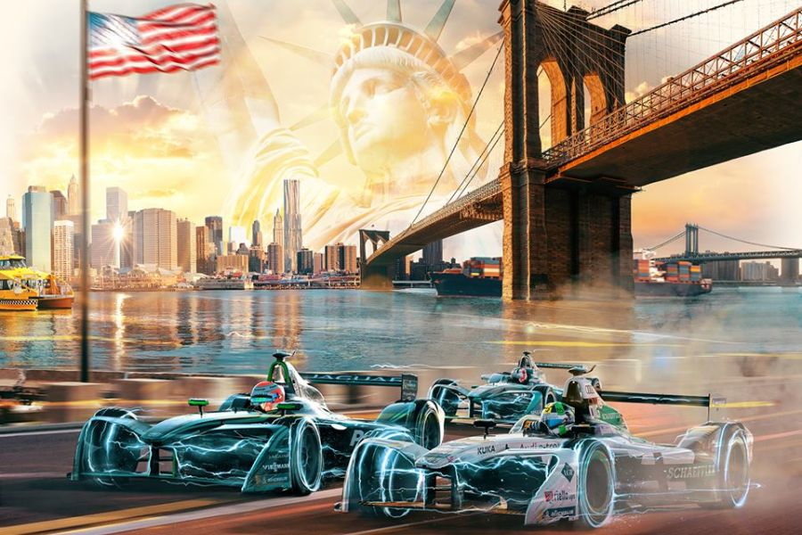 New York ePrix is the season-closing event of the 2017-2018 Formula E Championship