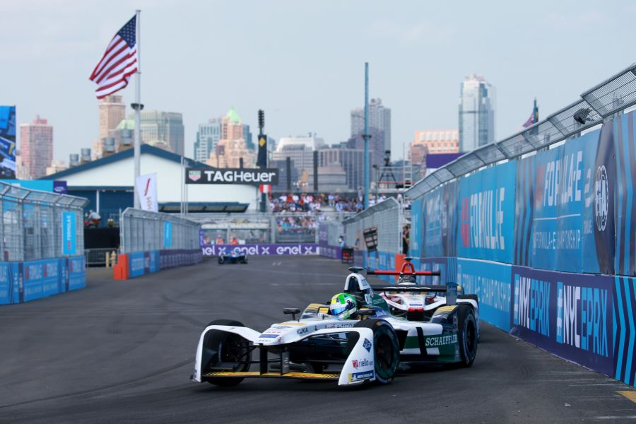 Audi Sport ABT Schaeffler New York City ePrix