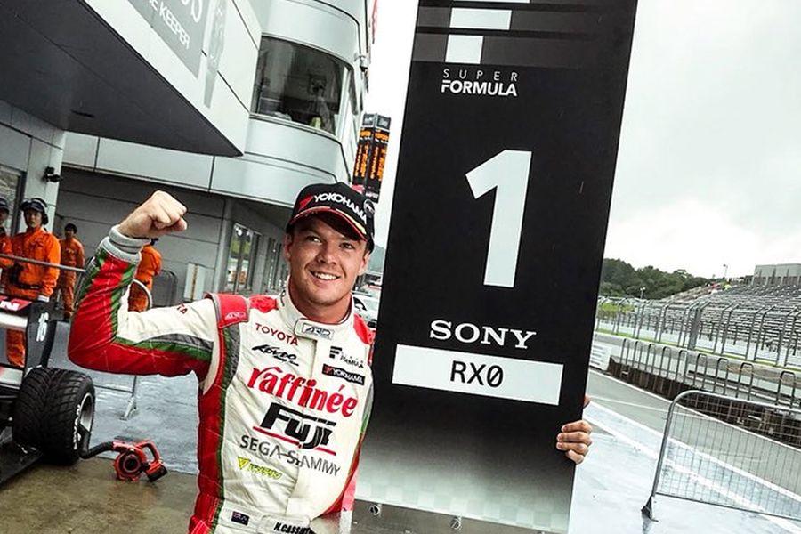 Nick Cassidy Super Formula Fuji