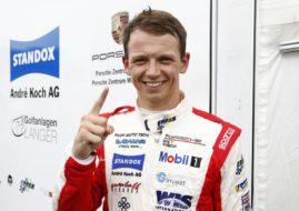 Nick Yelloly Porsche Supercup Hockenheimring
