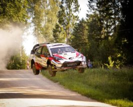 WRC stars Tänak, Paddon, Breen excited the crowd at Rally Estonia