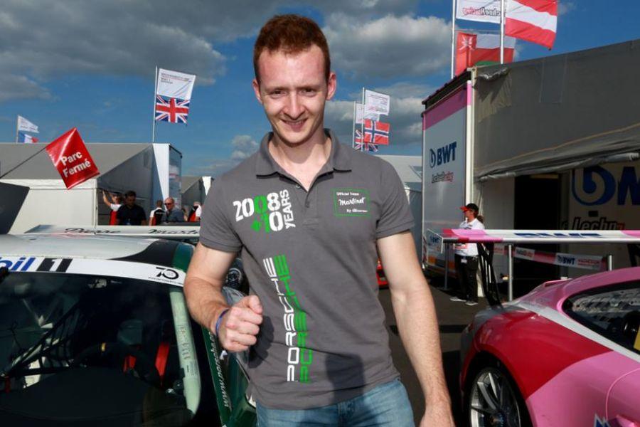 Porsche Supercup Silverstone Florian Latorre